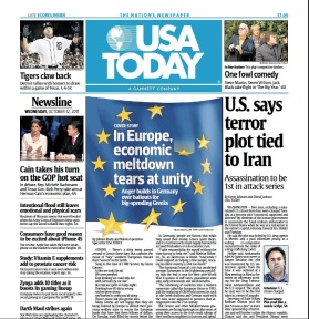 USAToday - Front Page